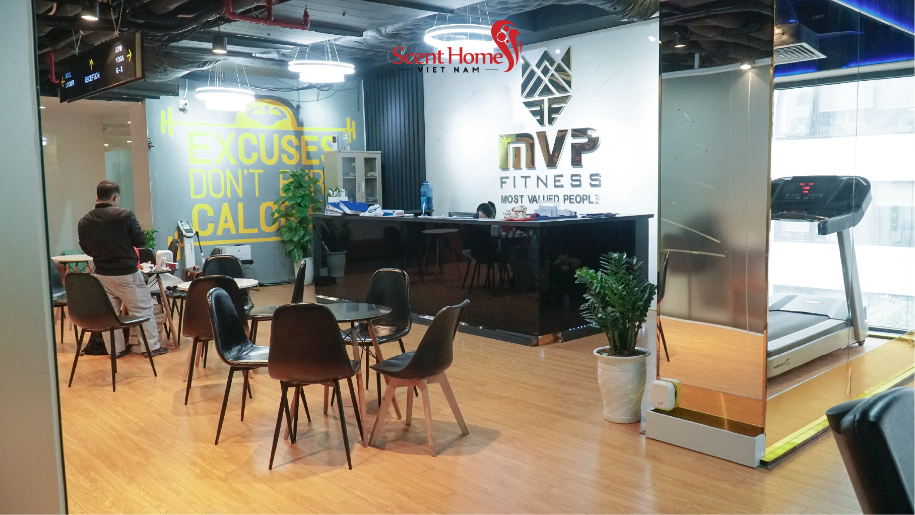 SCENT HOMES cooperates with MVP FITNESS