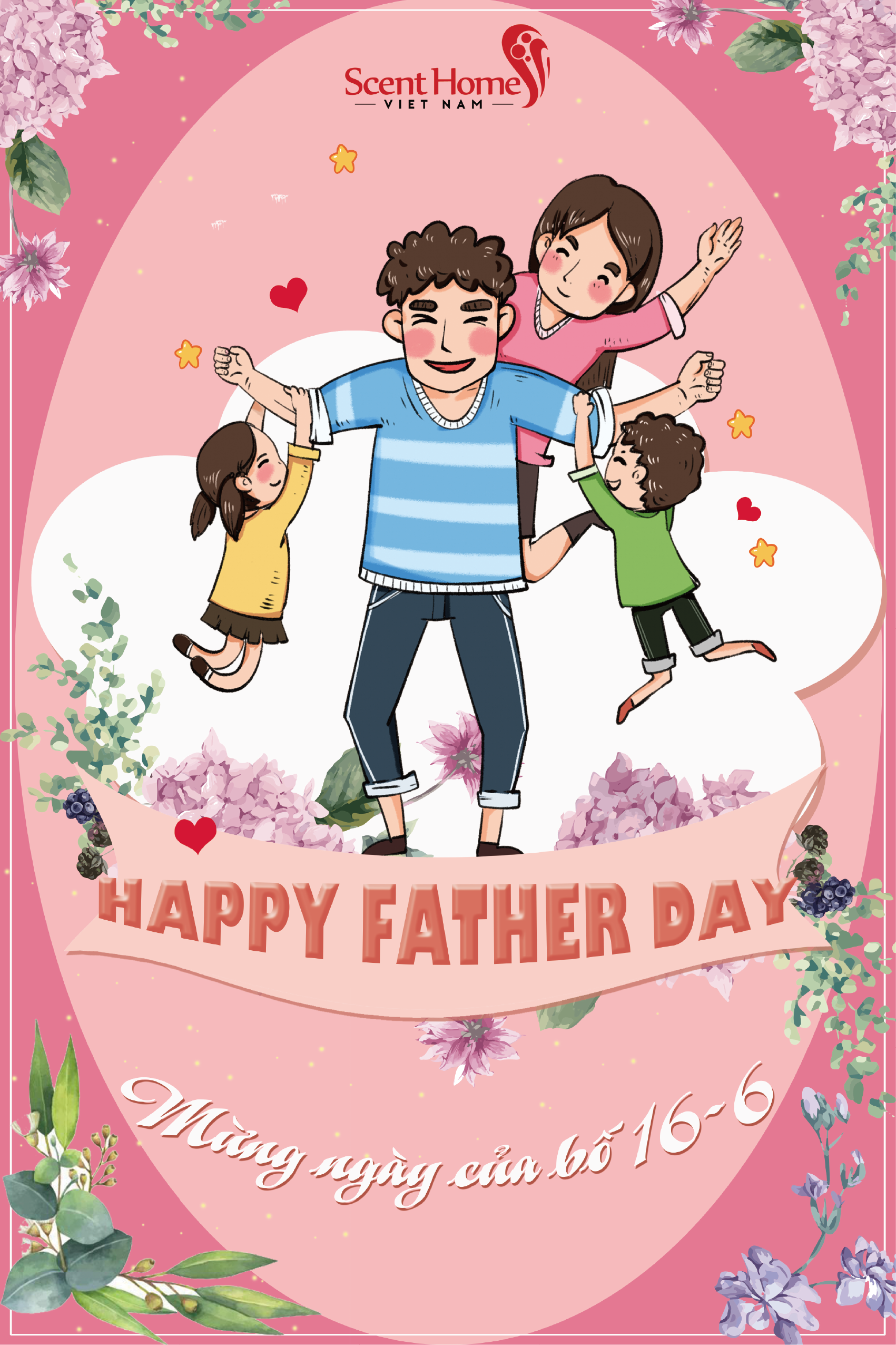 Happy Father's Day – Chúc mừng ngày của cha!